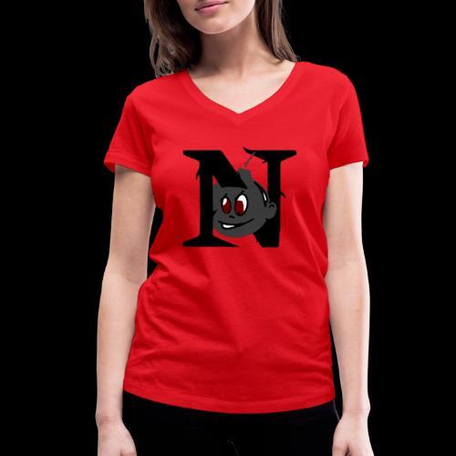 tete seul N - T-shirt bio col V Stanley & Stella Femme