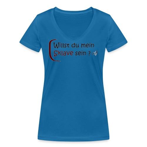 domsub-clothing.com - Women's Organic V-Neck T-Shirt by Stanley & Stella