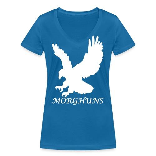 Morghuns Eagle - Women's Organic V-Neck T-Shirt by Stanley & Stella