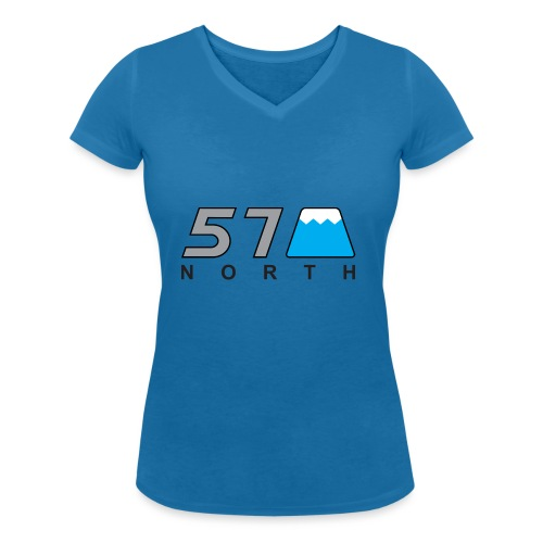 57 North - Women's Organic V-Neck T-Shirt by Stanley & Stella