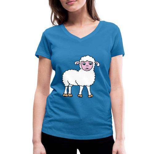 Minos le petit agneau - T-shirt bio col V Stanley & Stella Femme