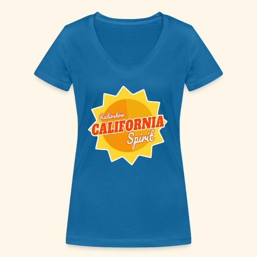 California Spirit Radioshow - T-shirt bio col V Stanley & Stella Femme
