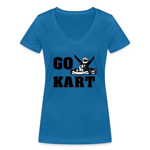 Go kart - T-shirt bio col V Stanley & Stella Femme