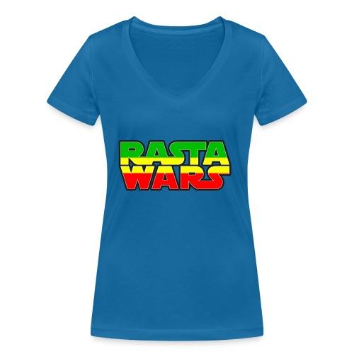 RASTA WARS KOUALIS - T-shirt bio col V Stanley & Stella Femme
