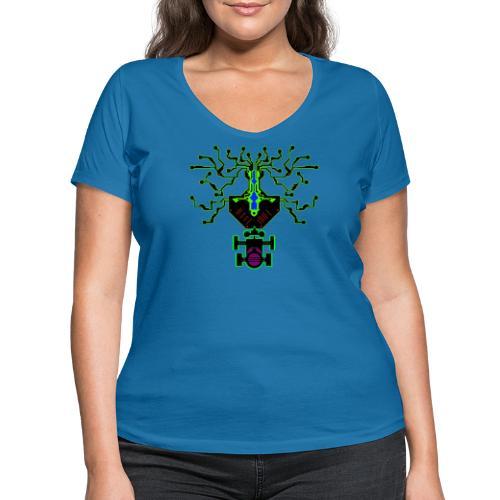 science - Frauen Bio-T-Shirt mit V-Ausschnitt von Stanley & Stella