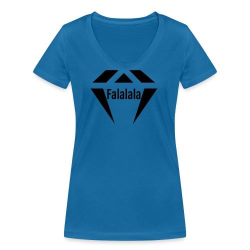 J.O.B Diamant Falalala - Frauen Bio-T-Shirt mit V-Ausschnitt von Stanley & Stella