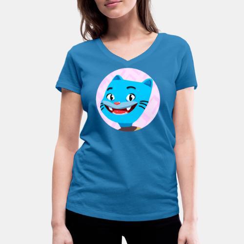 Gumball 2 - Camiseta ecológica mujer con cuello de pico de Stanley & Stella