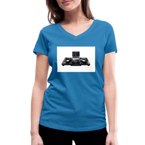 Pioneer Mixer DJM 250 MK2 with equipment - Frauen Bio-T-Shirt mit V-Ausschnitt von Stanley & Stella