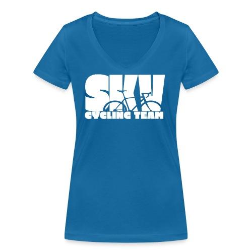 SKV CyclingTeam w - Frauen Bio-T-Shirt mit V-Ausschnitt von Stanley & Stella