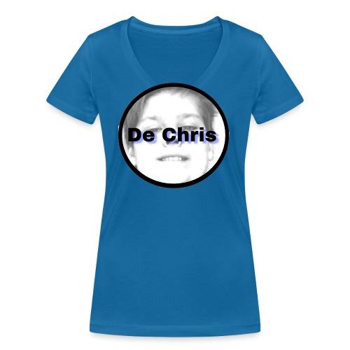 De Chris logo - Vrouwen bio T-shirt met V-hals van Stanley & Stella