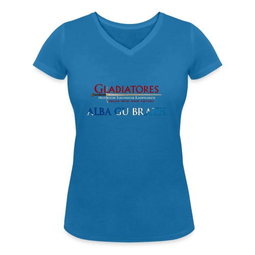 ALBAGUBRATH - Frauen Bio-T-Shirt mit V-Ausschnitt von Stanley & Stella