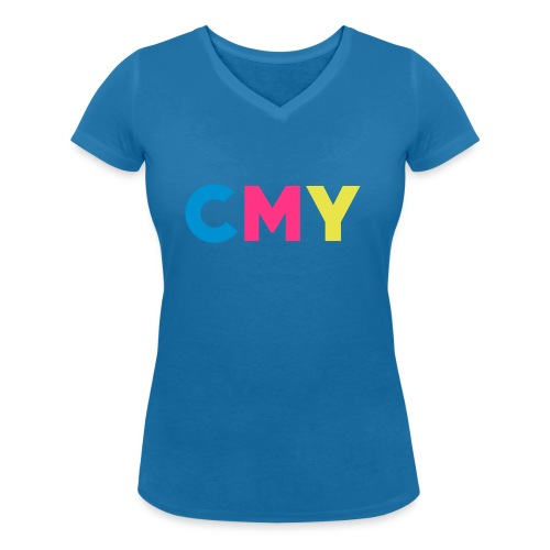 CMYK - Vrouwen bio T-shirt met V-hals van Stanley & Stella