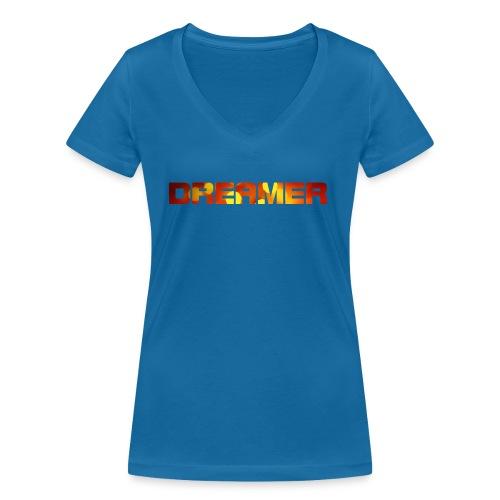 dreamer - Frauen Bio-T-Shirt mit V-Ausschnitt von Stanley & Stella
