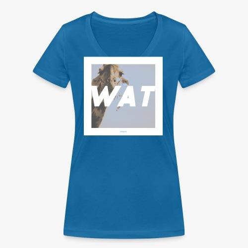 WAT #01 - Frauen Bio-T-Shirt mit V-Ausschnitt von Stanley & Stella