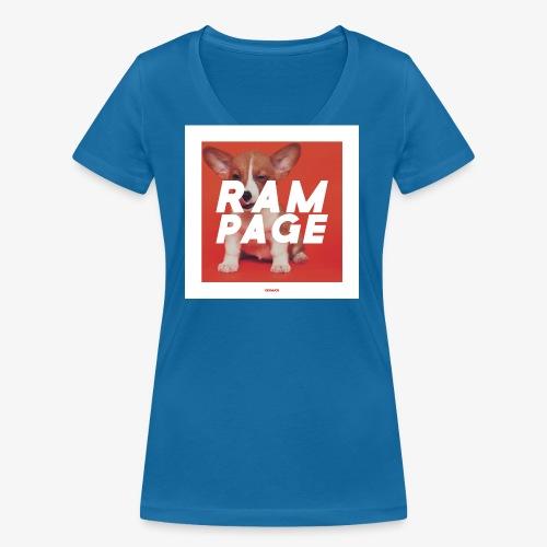 RAMPAGE #01 - Frauen Bio-T-Shirt mit V-Ausschnitt von Stanley & Stella