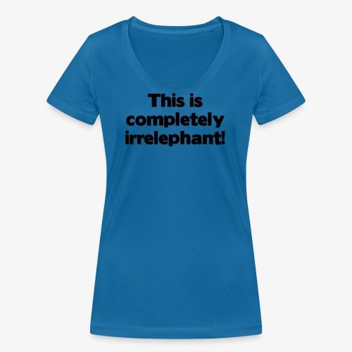 Irrelephant - Frauen Bio-T-Shirt mit V-Ausschnitt von Stanley & Stella
