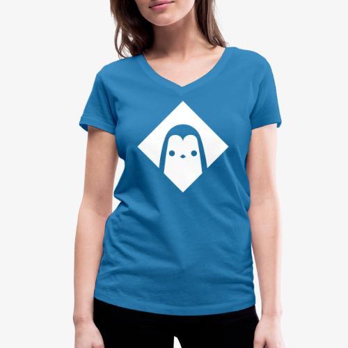 Pingouin - T-shirt bio col V Stanley & Stella Femme
