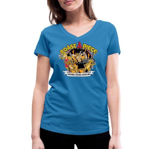 Roast a Piece Streetwear - Frauen Bio-T-Shirt mit V-Ausschnitt von Stanley & Stella