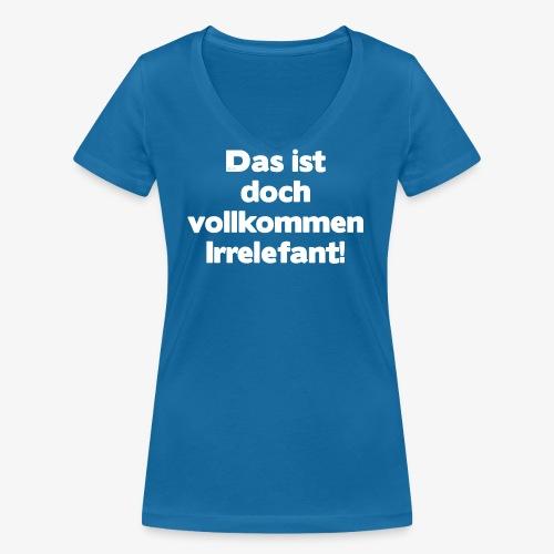 Der Irrelefant - Frauen Bio-T-Shirt mit V-Ausschnitt von Stanley & Stella