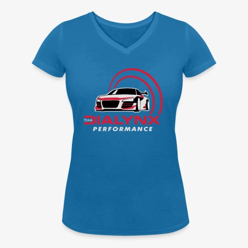 Dialynx Performance Race Team Dark Range - Women's Organic V-Neck T-Shirt by Stanley & Stella