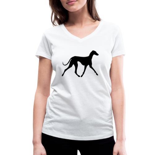 Azawakh - Frauen Bio-T-Shirt mit V-Ausschnitt von Stanley & Stella