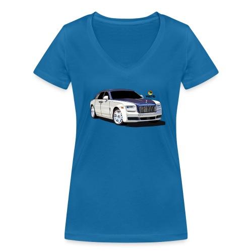 Luxury car - Women's Organic V-Neck T-Shirt by Stanley & Stella
