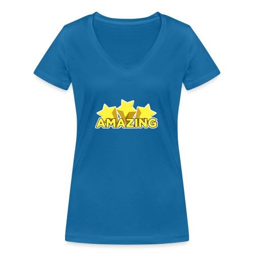 Amazing - Women's Organic V-Neck T-Shirt by Stanley & Stella