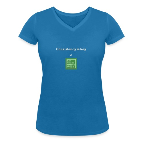 Consistency - Women's Organic V-Neck T-Shirt by Stanley & Stella