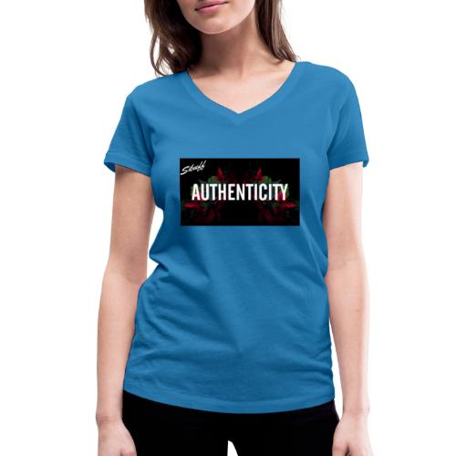 Authenticity - T-shirt bio col V Stanley & Stella Femme