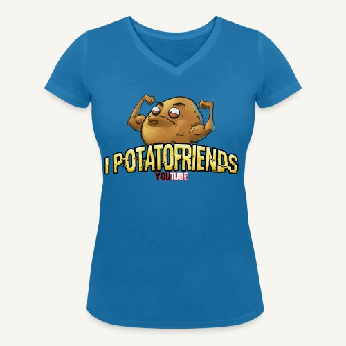 I-POTATOFRIENDS - T-shirt ecologica da donna con scollo a V di Stanley & Stella