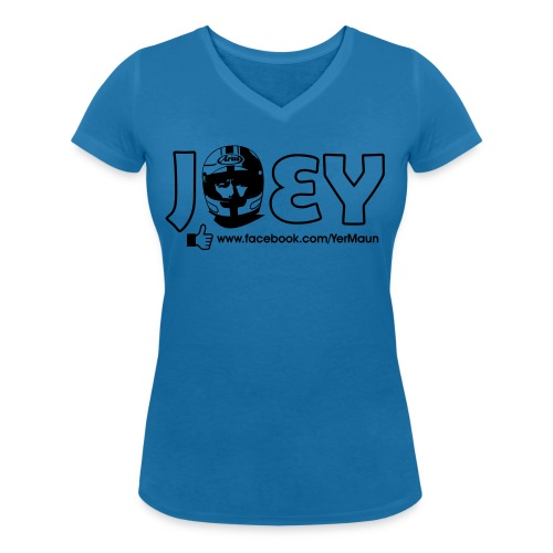 joey 3 - Women's Organic V-Neck T-Shirt by Stanley & Stella