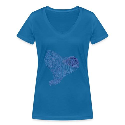 Cuor di Tartaruga Cuore Armato - T-shirt ecologica da donna con scollo a V di Stanley & Stella