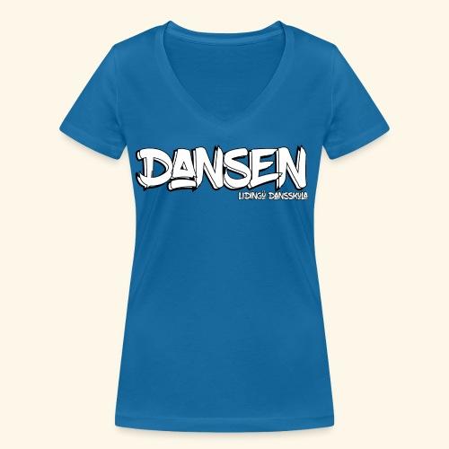 LidingoeDansen - Ekologisk T-shirt med V-ringning dam från Stanley & Stella