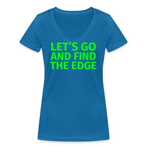 Find the Edge - Frauen Bio-T-Shirt mit V-Ausschnitt von Stanley & Stella