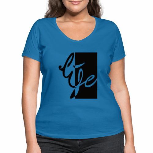 Life Logo 02 - T-shirt bio col V Stanley & Stella Femme