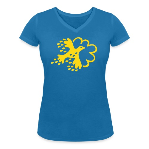 FLAX - Ekologisk T-shirt med V-ringning dam från Stanley & Stella