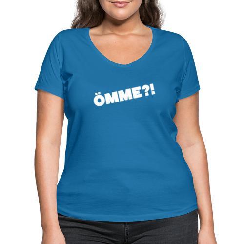 ÖMME - Frauen Bio-T-Shirt mit V-Ausschnitt von Stanley & Stella