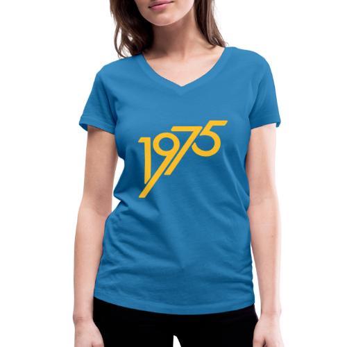 1975 future - Frauen Bio-T-Shirt mit V-Ausschnitt von Stanley & Stella