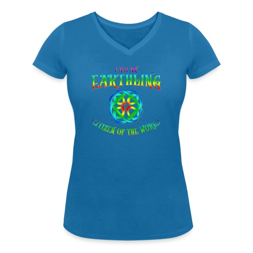 EARTHLING T-shirt - Ekologisk T-shirt med V-ringning dam från Stanley & Stella