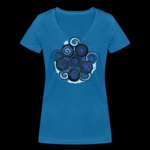 SPIRALE - Frauen Bio-T-Shirt mit V-Ausschnitt von Stanley & Stella