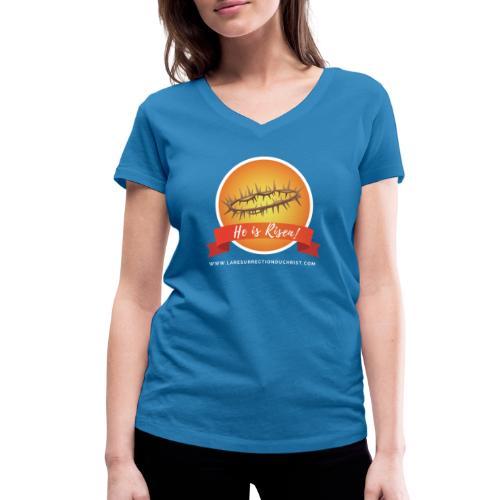 He is Risen ! (Il est ressuscité) - T-shirt bio col V Stanley & Stella Femme