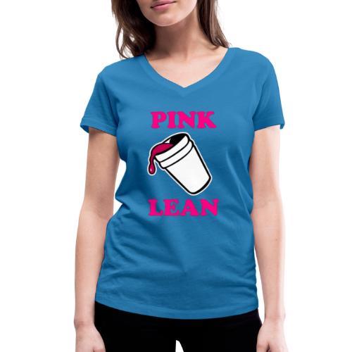 Tshirt Yencli Pink Lean - T-shirt bio col V Stanley & Stella Femme