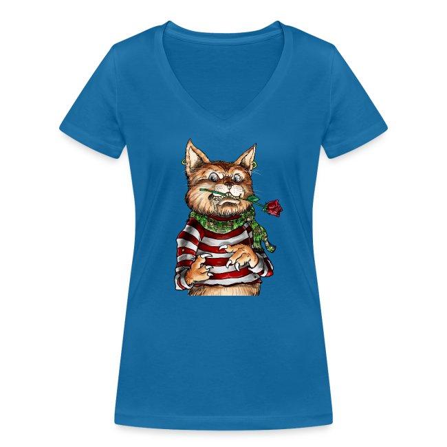 T-shirt - Crazy Cat
