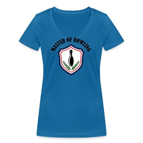 Master Of Bowling - T-shirt bio col V Stanley & Stella Femme
