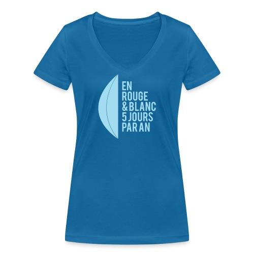 AUPA AB Mode le 3 png - T-shirt bio col V Stanley & Stella Femme