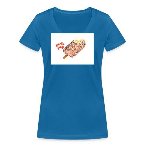perlie pop - Frauen Bio-T-Shirt mit V-Ausschnitt von Stanley & Stella