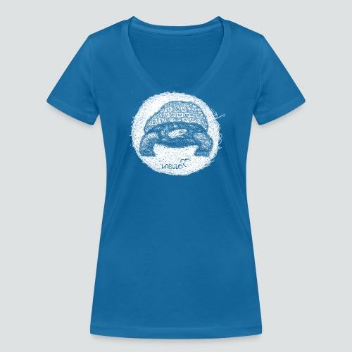 Kreischieldkröte 3 2 png - Frauen Bio-T-Shirt mit V-Ausschnitt von Stanley & Stella