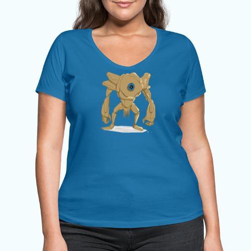 Cyclops - Women's Organic V-Neck T-Shirt by Stanley & Stella