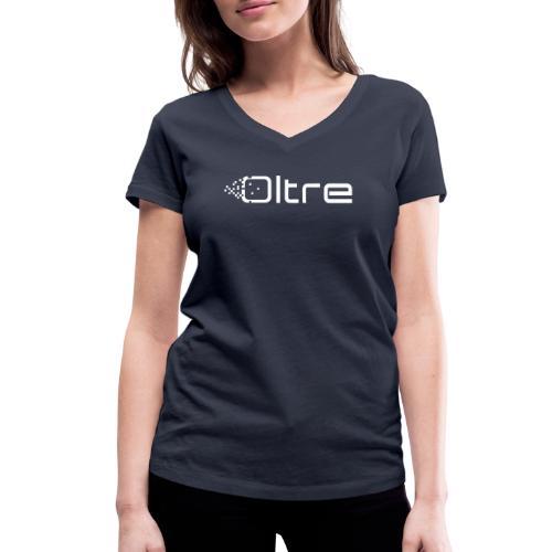 Associazione Oltre - T-shirt ecologica da donna con scollo a V di Stanley & Stella
