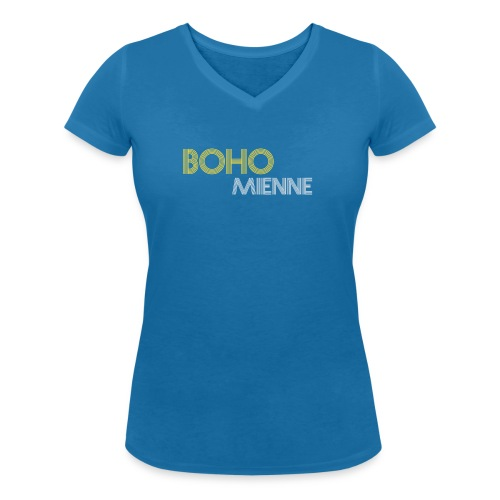 Bohomienne - Vrouwen bio T-shirt met V-hals van Stanley & Stella